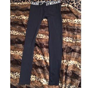 NWOT Black Gymshark Leggings size small